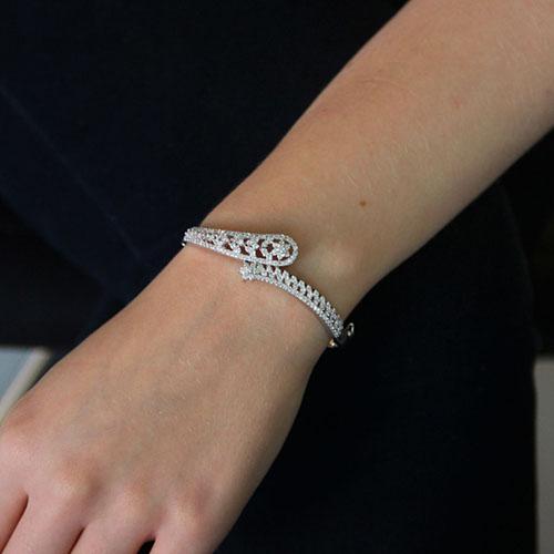 bracelet femme argent zirconium 9600110 pic4