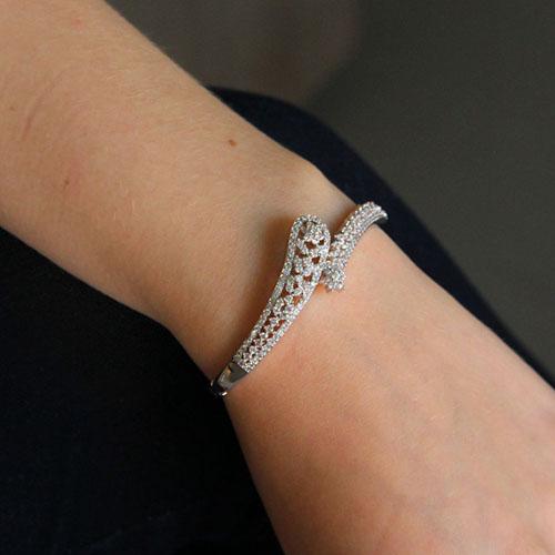 bracelet femme argent zirconium 9600110 pic5