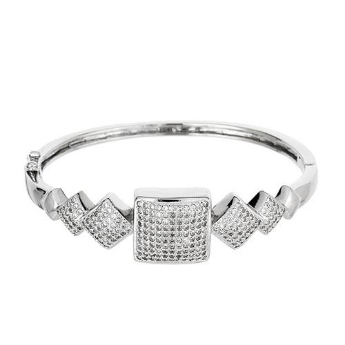 bracelet femme argent zirconium 9600111