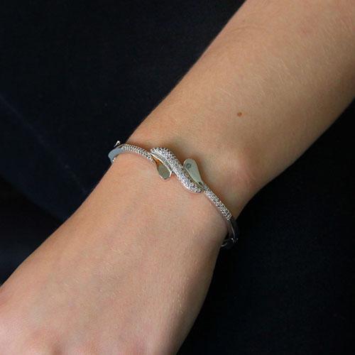 bracelet femme argent zirconium 9600112 pic4