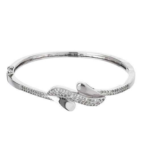 bracelet femme argent zirconium 9600112