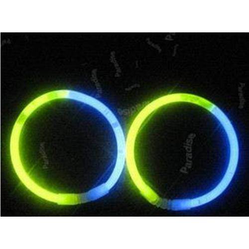 bracelet fluo led bicolore