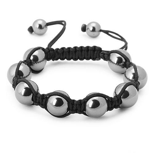 bracelet perles onyx noir 1561