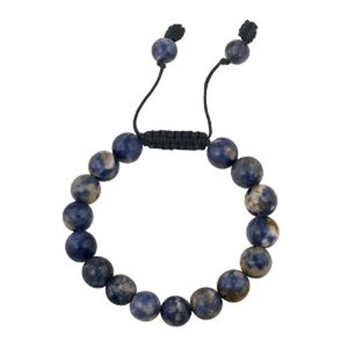 bracelet perles sodalite 1606