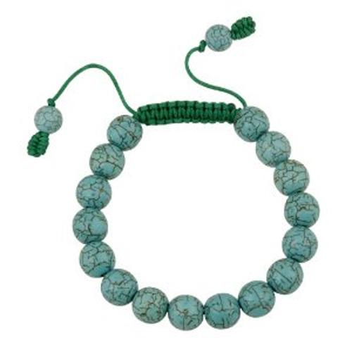 bracelet perles turquoise 1603