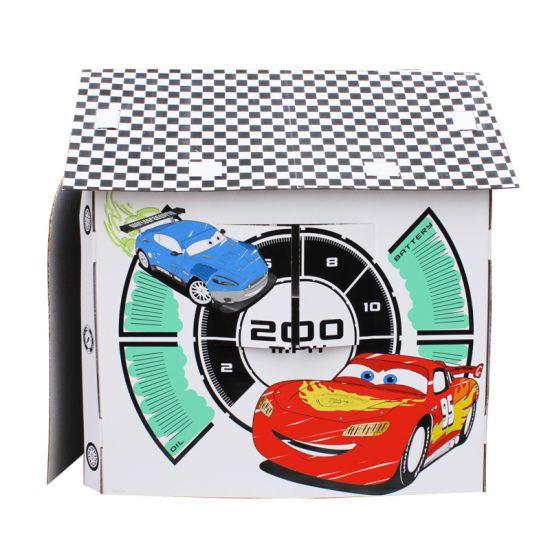 cabanne en carton car race