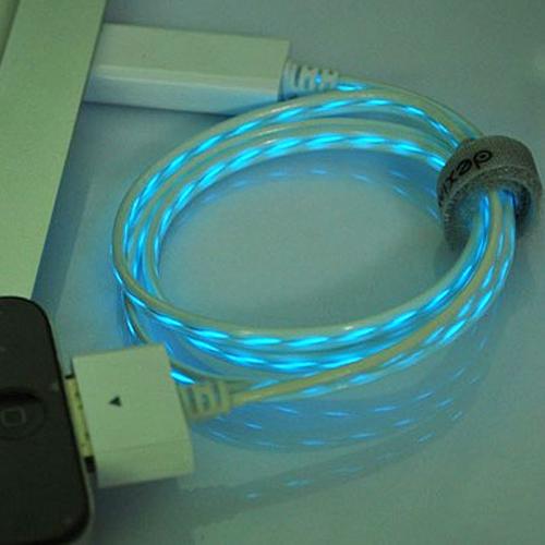 cable lumineux pour Iphone et Ipad