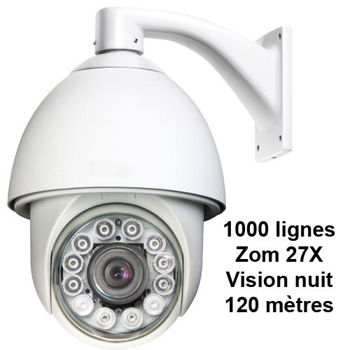 camera 1000 ltv zoom 27x nuit 120m