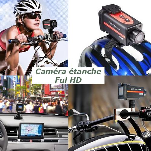 camera etanche action sport GFHD