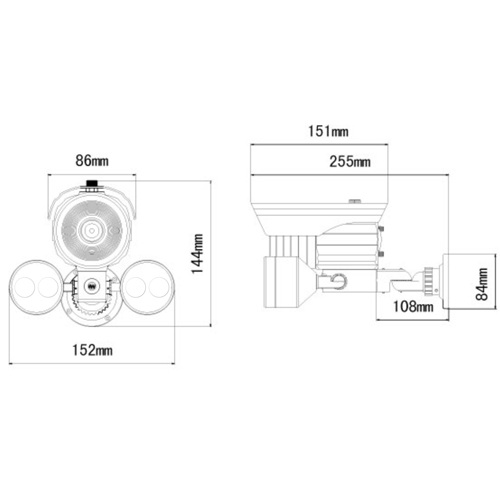 camera surveillance VI80FHD pic2