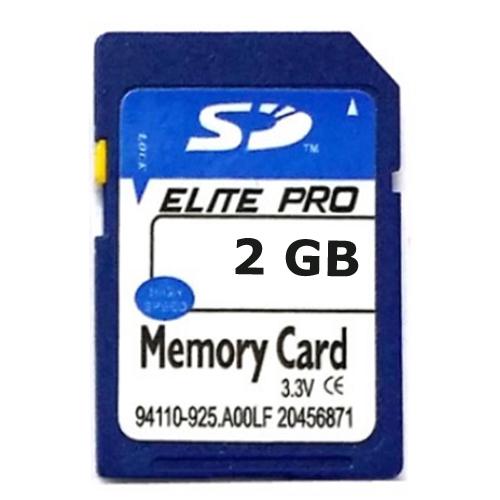 carte memoire SD Elite Pro 2G