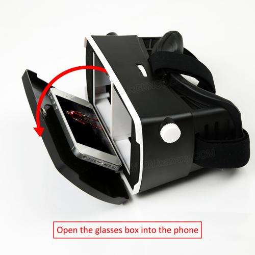 casque realite virtuelle pour smartphone VRV3 pic5