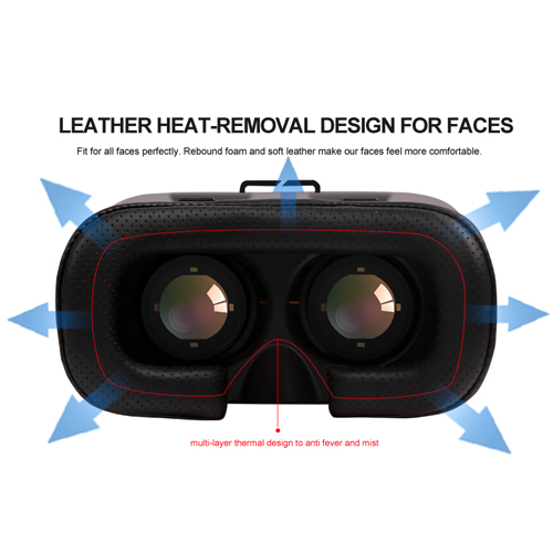 casque realite virtuelle pour smartphone VRV5 pic2