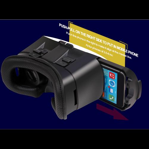 casque realite virtuelle pour smartphone VRV5 pic3