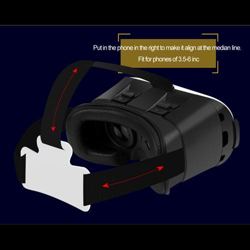 casque realite virtuelle pour smartphone VRV5 pic4