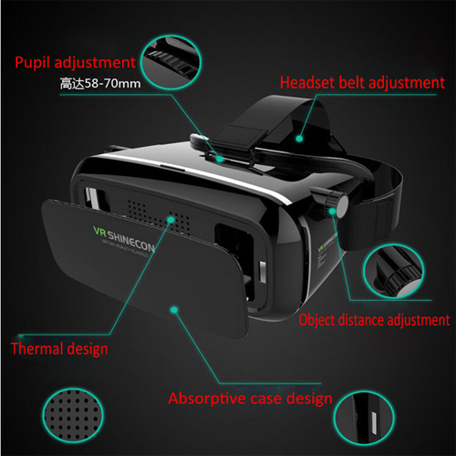 casque realite virtuelle pour smartphone VRV6 pic10