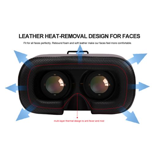 casque realite virtuelle pour smartphone VRV7 pic10