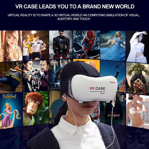 casque realite virtuelle pour smartphone VRV7 pic3