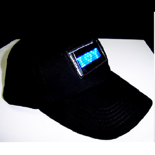 casquette affichage led programmable pic2