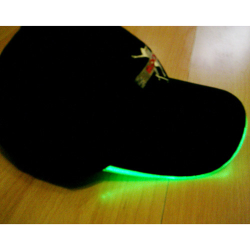 casquette lumineuse led style neon pic6