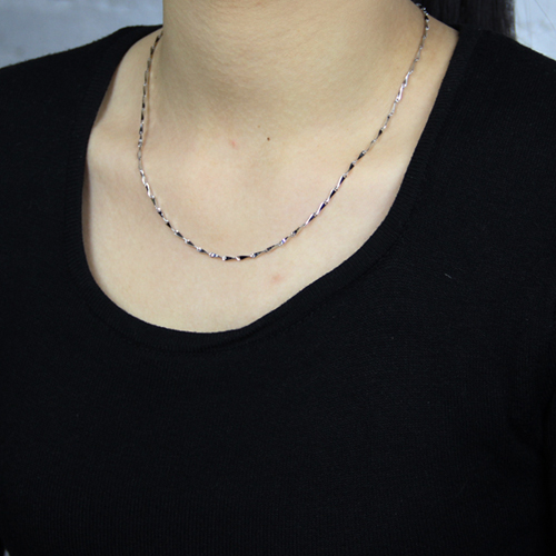 chaine femme argent 8600014 pic5