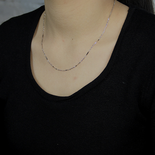 chaine femme argent 8600016 pic4