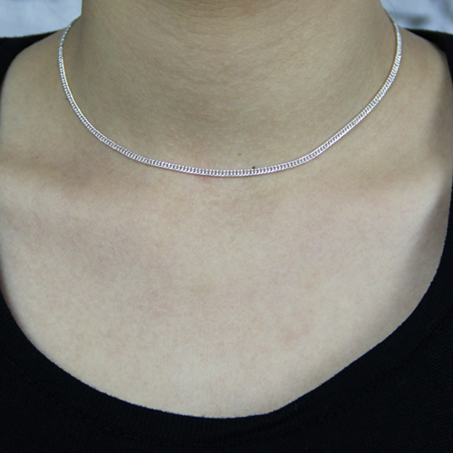 chaine femme argent 8600024 pic5