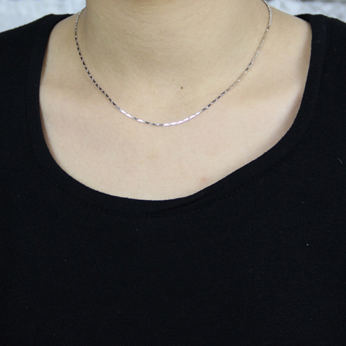 chaine femme argent 8600049 pic5
