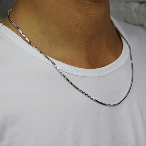 chaine homme argent 8600040 pic4