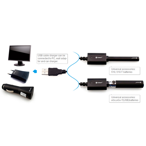 chargeur USB ego 510 joyetech pic2