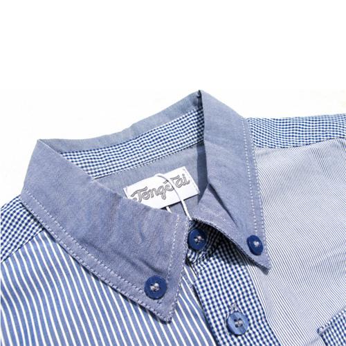 chemise blue boy garcons TT4195 pic2