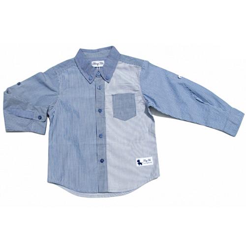 chemise blue boy garcons TT4195