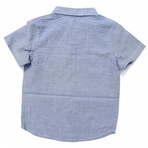 chemise mancjes courtes garcons TT4192 pic2