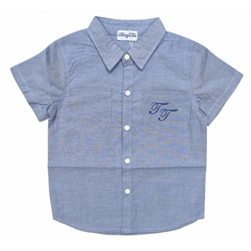 chemise mancjes courtes garcons TT4192