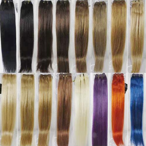 cheveux naturels 24p droits