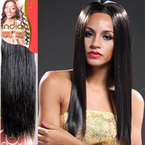 cheveux naturels indiens soyeux