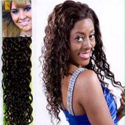 cheveux naturels malaisiens boucles