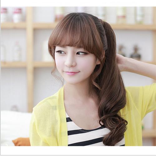 cheveux naturels queue de cheval 20p