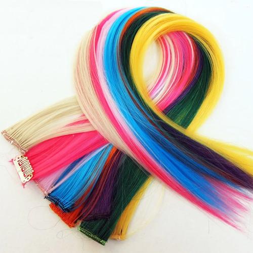 cheveux synthetiques 50cm
