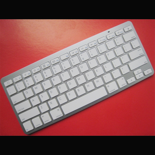 clavier bluetooth iphone ipad mac blanc