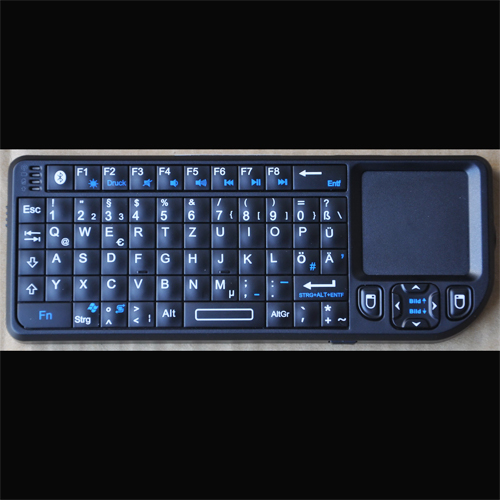 clavier touchpad bluetooth