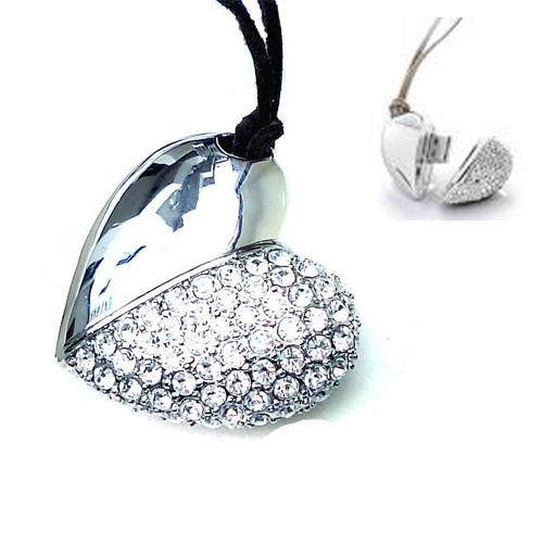 cle usb bijoux coeur