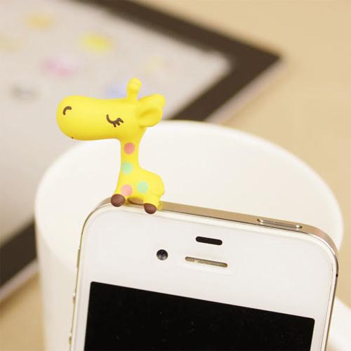 clip telephone jack girafe pic4