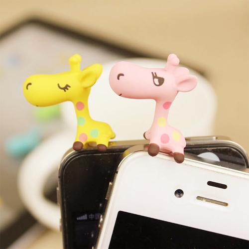 clip telephone jack girafe