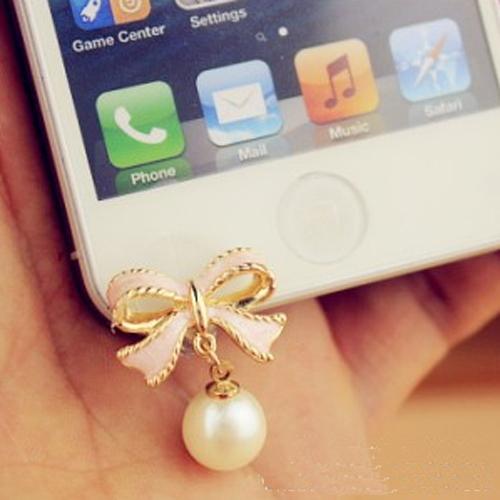 clip telephone jack perle