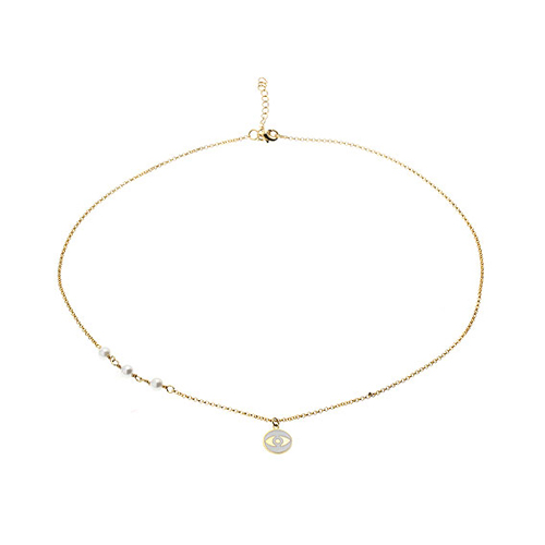 collier femme argent coquillage 8500001 pic2
