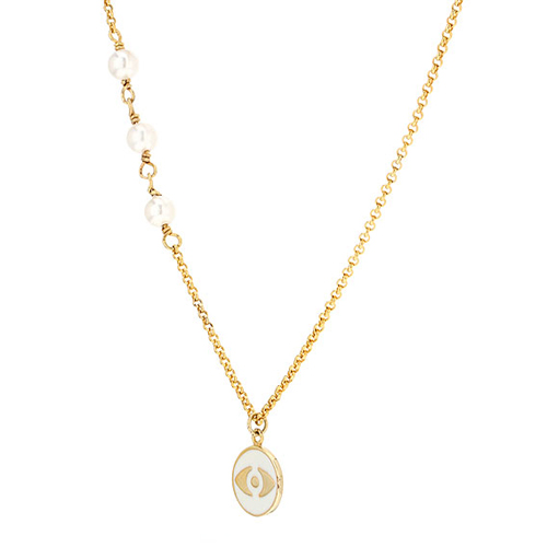 collier femme argent coquillage 8500001 pic3