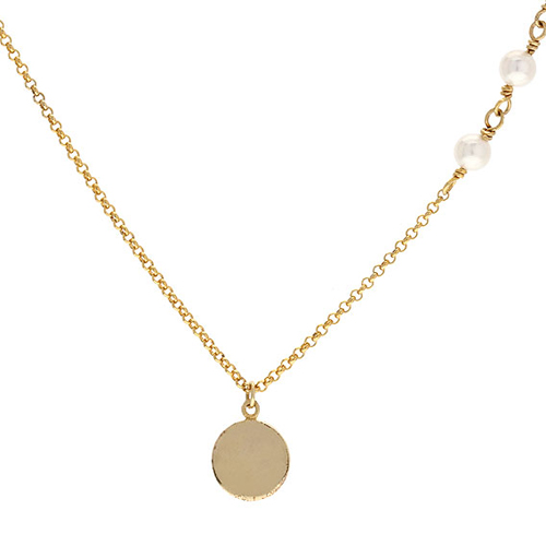 collier femme argent coquillage 8500001 pic4