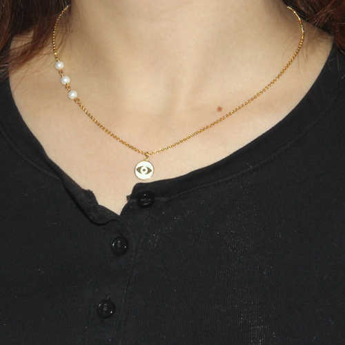collier femme argent coquillage 8500001 pic6