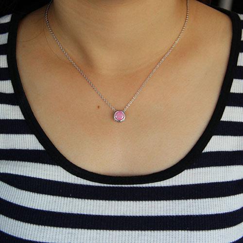 collier femme argent diamant 8500051 pic6